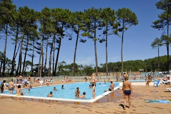 Camping les Oyats - Mh 2ch 6pers + Terrasse Semi-couverte