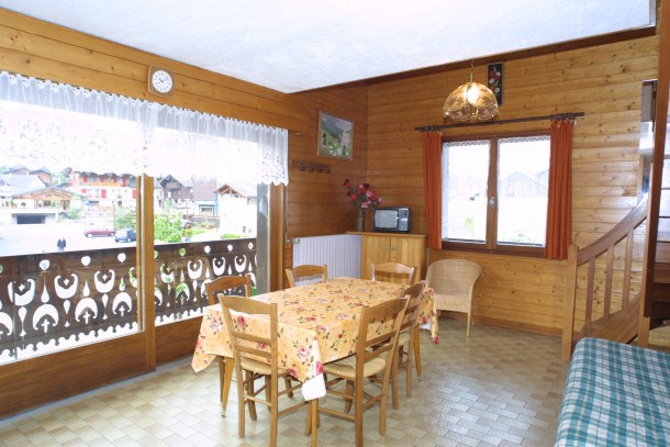 Location vacances Les Gets -  Appartement - 6 personnes - Barbecue - Photo N° 1