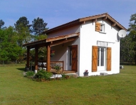 Location vacances Trensacq -  Maison - 3 personnes - Barbecue - Photo N° 1
