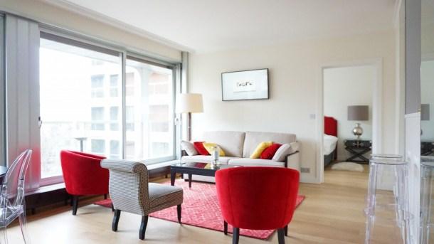 Location vacances Paris 16e Arrondissement -  Appartement - 2 personnes - Climatisation - Photo N° 1