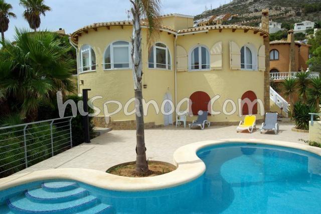 Jolie villa de vacances avec piscine à louer sur la Costa Blanca |yv-cas bahia