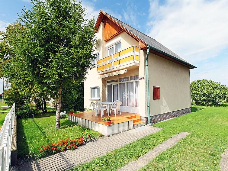 Maison pour 6 à Balatonmariafurdo