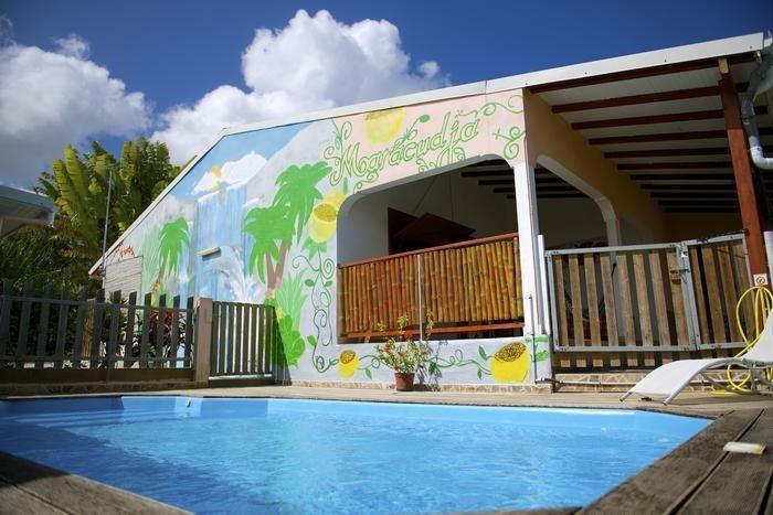 Appartement pour 6 pers. avec piscine, Sainte-Anne