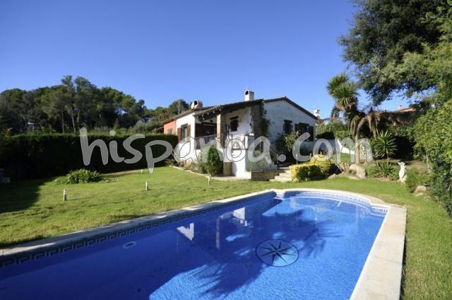 Location villa a Begur - Environnement calme  d88