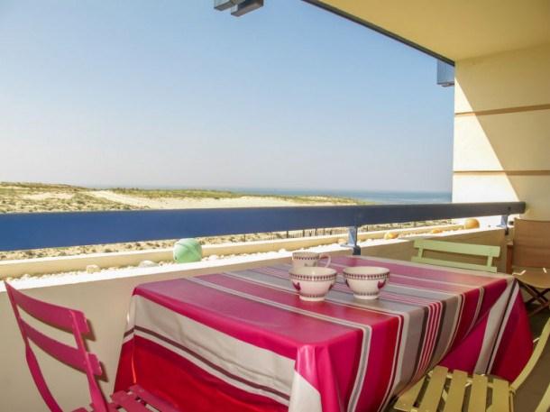 Location vacances Mimizan -  Appartement - 3 personnes - Télévision - Photo N° 1