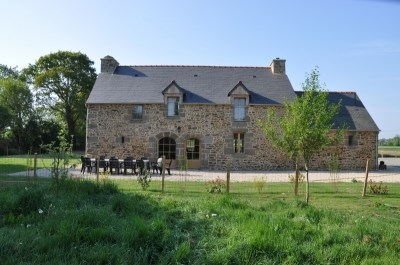 Holiday rentals Baguer-Morvan - Cottage - 20 persons - BBQ - Photo N° 1