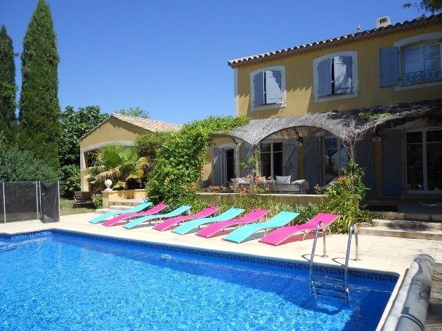 Villa avec piscine à Thezan Les Beziers - Belle villa de luxe avec piscine privée à Thézan-lès-Béziers à distance de ...