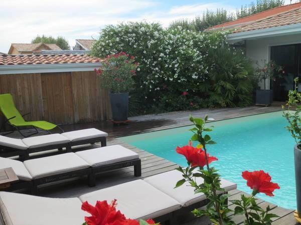 Terrasse extérieure, piscine