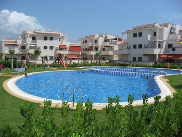 Location vacances Alcalà de Xivert -  Appartement - 6 personnes - Salon de jardin - Photo N° 1