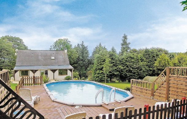 Location vacances Saint-Tugdual -  Maison - 8 personnes - Barbecue - Photo N° 1