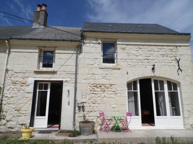 Gîte XIXe siècle - 3 étoiles - 6 pers - 3 chambres - Beaumont-en-Véron