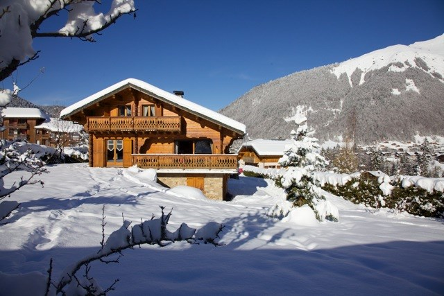 Holiday rentals Morzine - House - 8 persons - BBQ - Photo N° 1