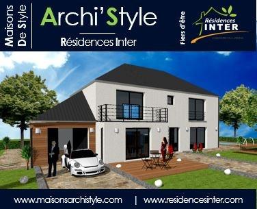 Maison  7 pièces + Terrain 628 m² Limours par MAISONS ARCHISTYLE GROUPE INTER