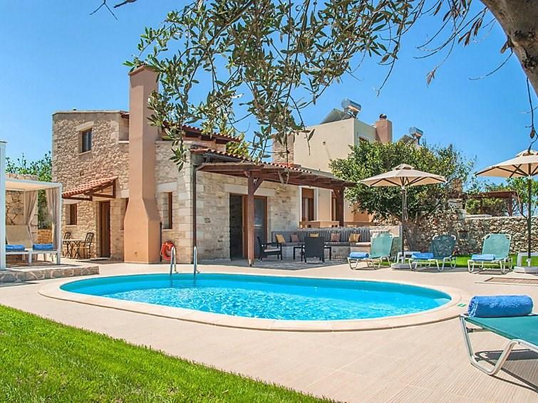 Maison pour 4 personnes à Stavromenos, Rethymno