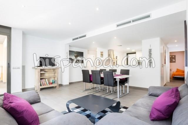 Location vacances Rosas -  Appartement - 6 personnes - Salon de jardin - Photo N° 1