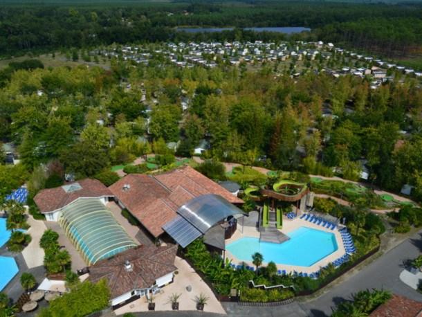 Location vacances Mézos -  Maison - 6 personnes - Court de tennis - Photo N° 1