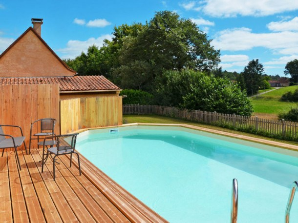 Location vacances Saint-Julien-de-Crempse -  Maison - 6 personnes - Barbecue - Photo N° 1