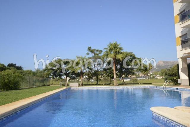 Appartement pour 5 personnes avec piscine collective à Calpe  costacalp