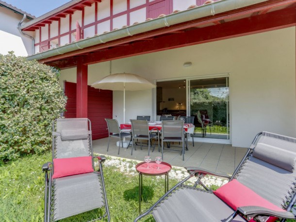 Location vacances Saint-Pée-sur-Nivelle -  Appartement - 6 personnes - Barbecue - Photo N° 1