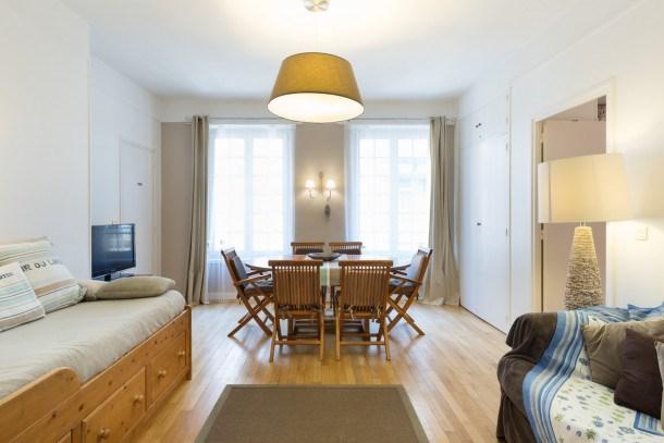 Location vacances Saint-Malo -  Appartement - 7 personnes - Télévision - Photo N° 1