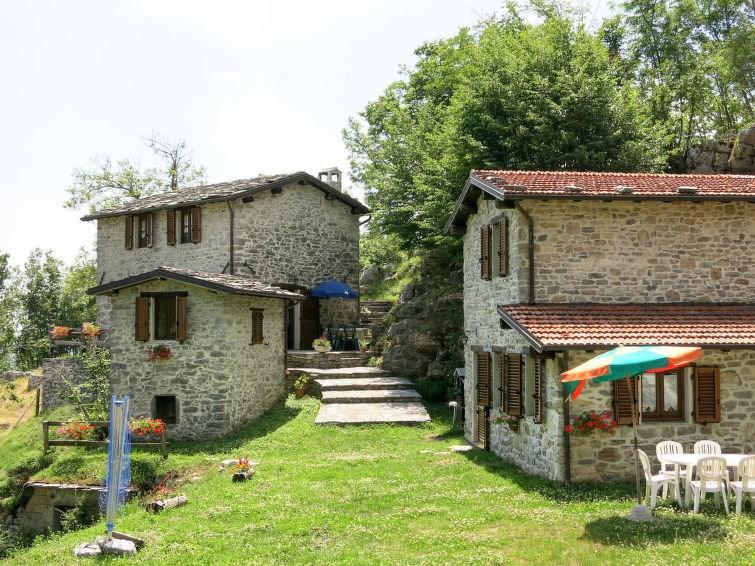 Studio pour 3 personnes à Fabbriche di Vallico