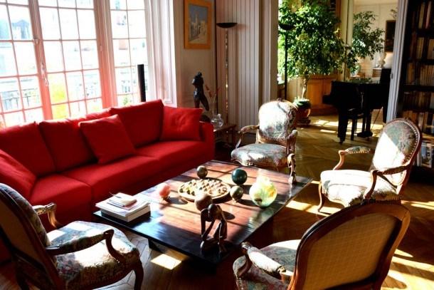Luxury 3 Bedroom Apartment with Piano in Paris