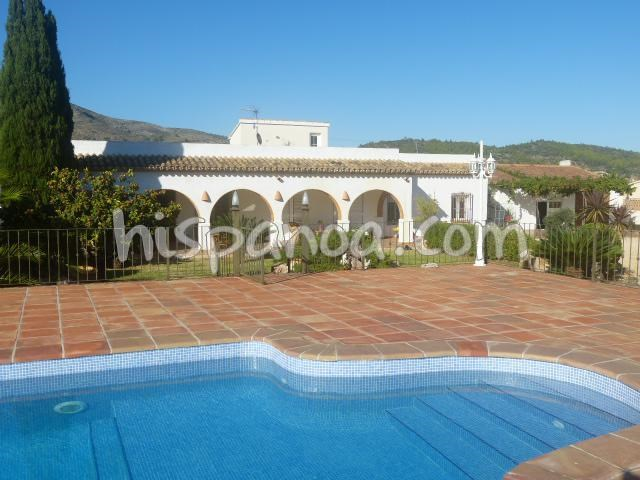 Location villa Costa Blanca à Jalon avec piscine sécurisée | jvsil