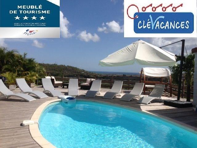 L'élégante Villa Cocoon **** et son bungalow avec superbe vue à 180° sur la mer