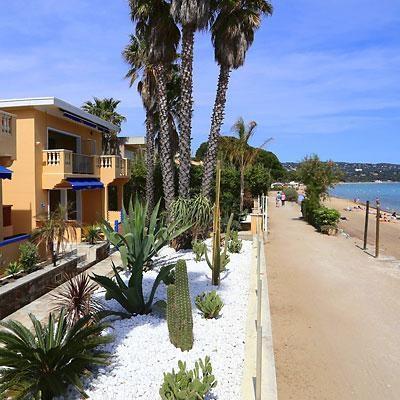 residence vue front de mer et plage