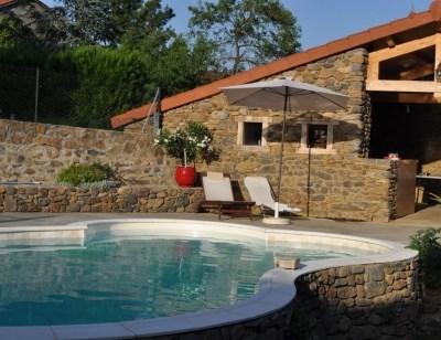 Ferienwohnungen Blassac - Hütte - 6 Personen - Grill - Foto Nr. 1