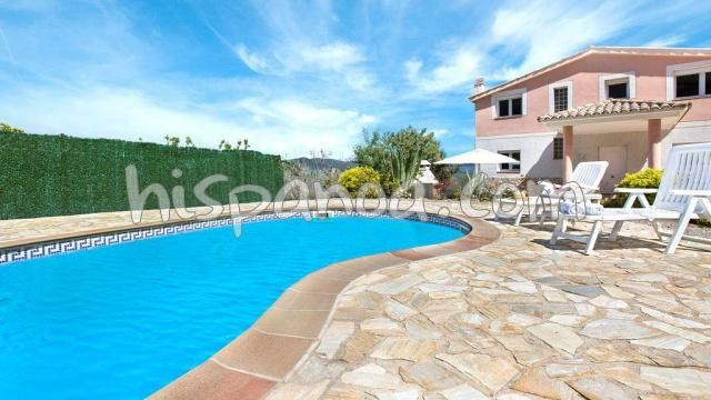 House for 10 ppl. with pool, Lloret de Mar