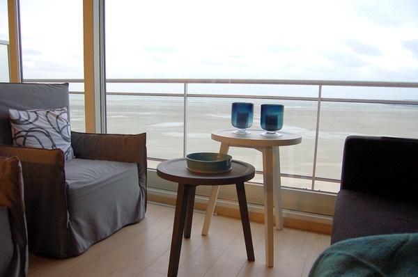 Appartement complètement rénové, avec vue sur la mer