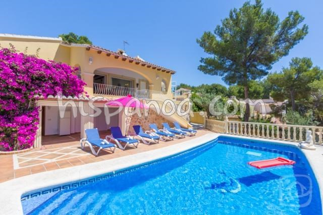 House for 6 ppl. with pool, Teulada