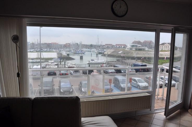 Appartement aan jachthaven op 2° verdieping