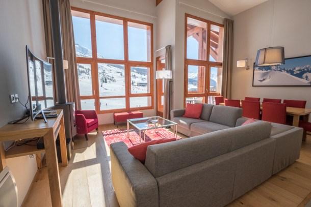 Location vacances Bourg-Saint-Maurice -  Appartement - 9 personnes - Télévision - Photo N° 1
