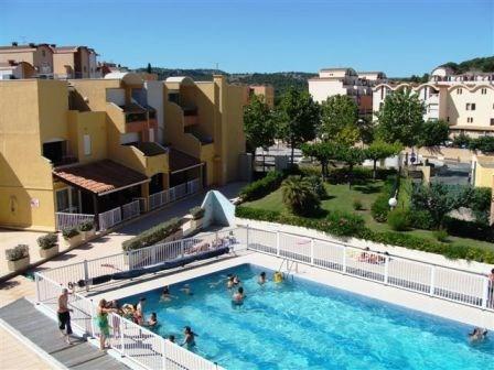 Gruissan (11) - Secteur port - Résidence Barberousse, appartement 2 pièces cabine de 37 m² environ jusqu'à 6 personne...