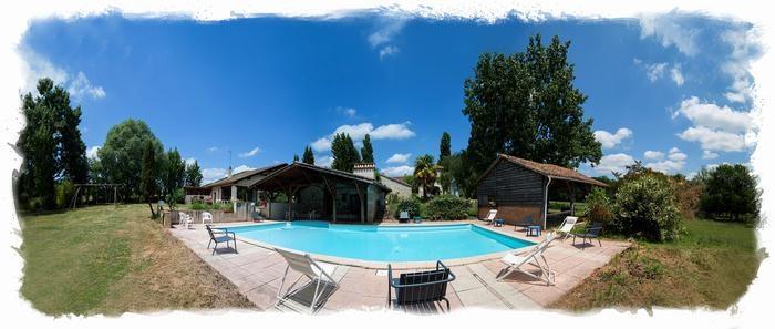 Location vacances Sainte-Maure-de-Peyriac -  Maison - 4 personnes - Barbecue - Photo N° 1