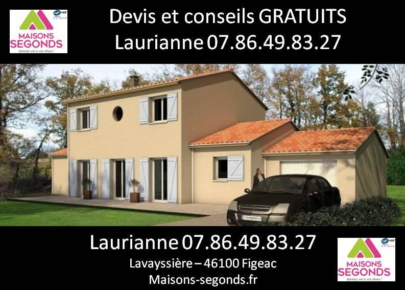 Maison  6 pièces + Terrain 4282 m² Cajarc par MAISONS SEGONDS