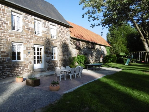 Holiday rentals Saint-Ovin - Cottage - 10 persons - BBQ - Photo N° 1