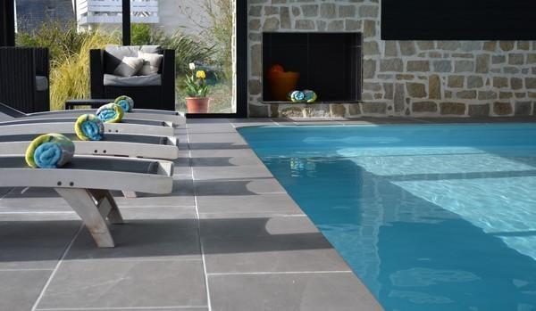 Appartement pour 7 pers. avec piscine privée, Sibiril