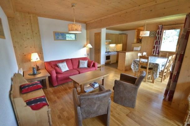 Bel appartement 6 personnes, 3 chambres, wifi, à 100m des pistes!