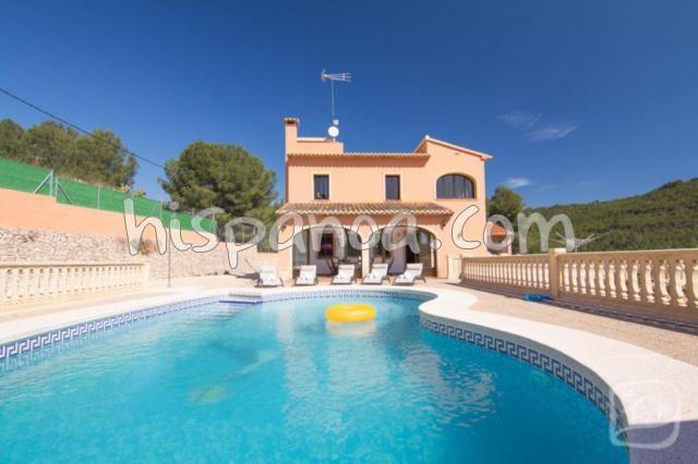 Villa piscine Espagne pour 10 personnes, villa vacances Calpe | grac