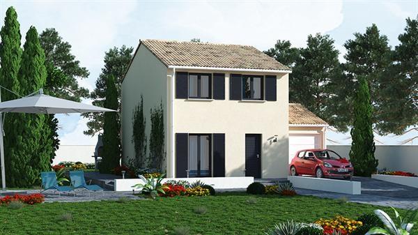 Maison  4 pièces + Terrain 388 m² Saint-Hilaire par MAISONS PIERRE