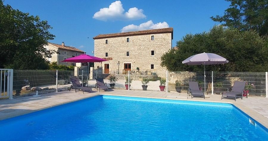 Gîte de charme en Cévennes 15 personnes avec piscine et SPA - Seynes