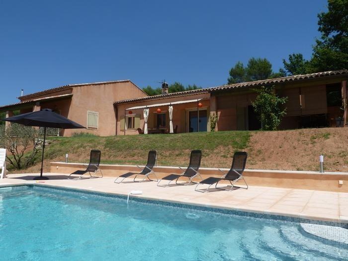 Villa pour 6 pers. avec piscine privée, Villecroze