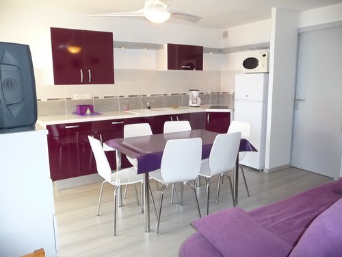 Holiday rentals Le Barcarès - Apartment - 6 persons - Garden furniture - Photo N° 1
