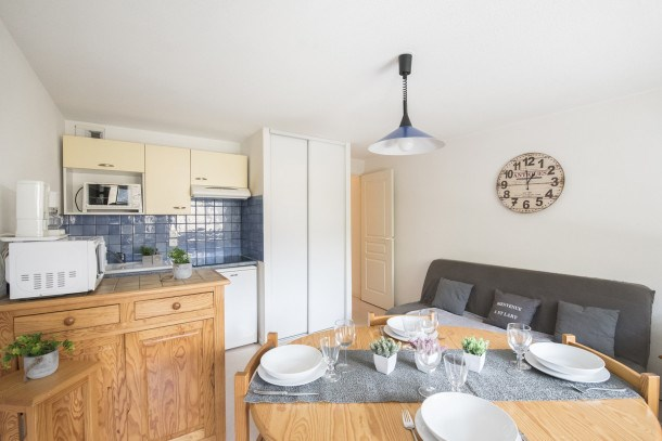 LOCATION APPARTEMENT SAINT LARY SOULAN/PRESTIGE/QUARTIER THERMAL-TELECABINE/TYPE 2/4PERS