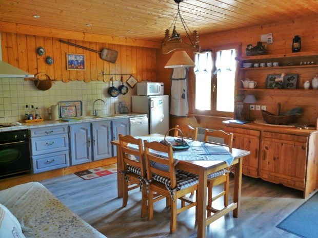 Ferienwohnungen Saint-Bonnet-en-Champsaur - Hütte - 4 Personen - Grill - Foto Nr. 1