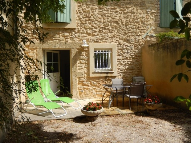 Cottage in the heart of vineyards and olive trees - Sainte-Cécile-les-Vignes