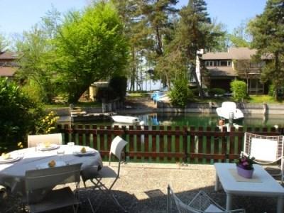 Alquileres de vacaciones Thonon-les-bains - Cabaña - 4 personas - Silla de cubierta - Foto N° 1